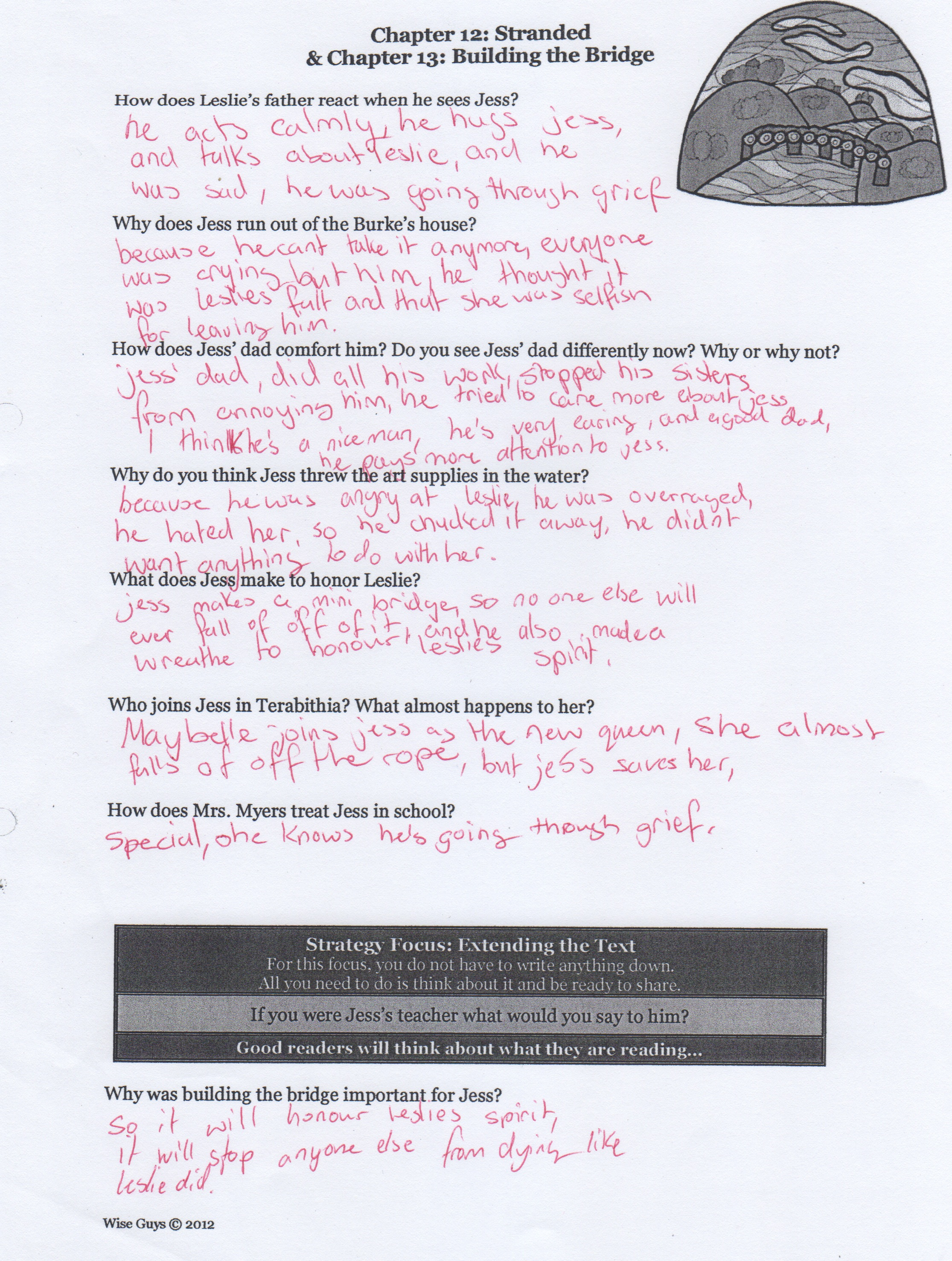 Worksheets Bridge To Terabithia Worksheets ms stephens novel bridge to terabithia by katherine paterson it could be a venn diagram for compare and contrast rewriting scene from the book or worksheet